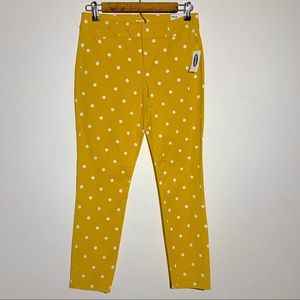 Old Navy Mid rise Printed Pixie Ankle Pants Sz 2